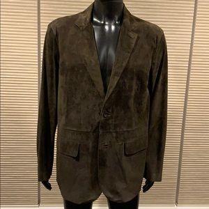 Michael Kors leather lightweight sports jacket NWT